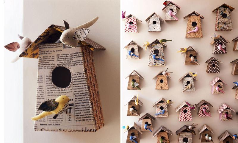 A.birdhouses