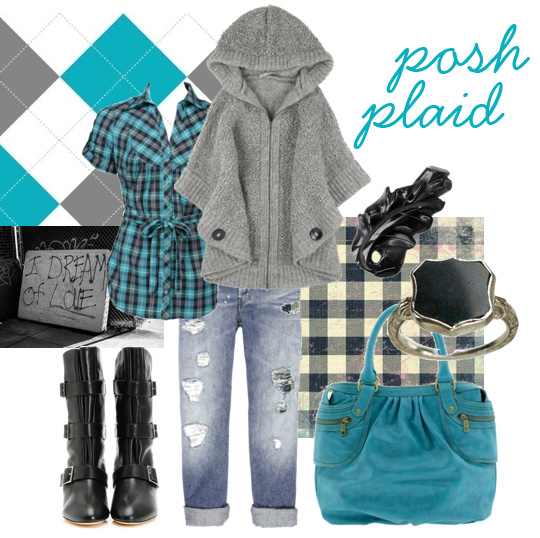 POLYposhplaid