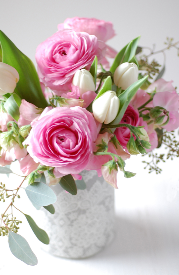 Small Spring Flower Arrangements Roses Gallery
